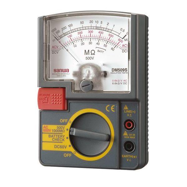 三和電気計器 絶縁抵抗計 DM509S