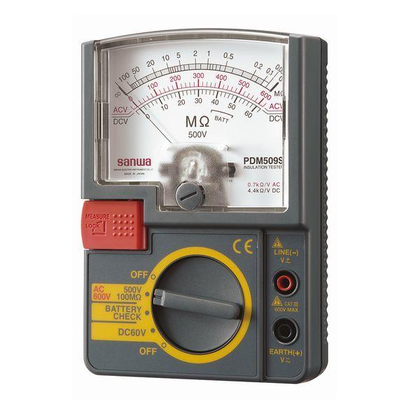 三和電気計器 絶縁抵抗計 PDM509S