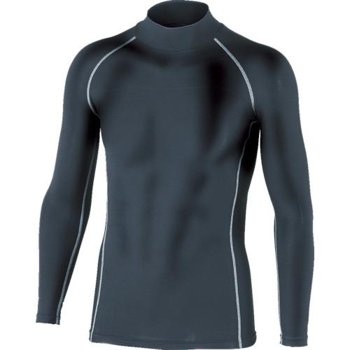 おたふく 年末年始大決算 BTパワーストレッチハイネックシャツ 売れ筋 ブラック M JW-170-BK-M