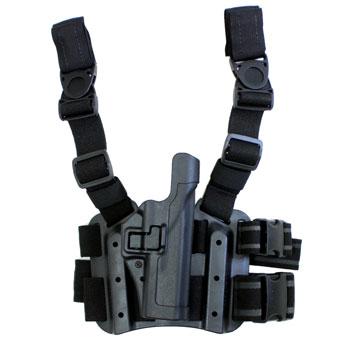 在庫販売 BLACKHAWK ブラックホーク 430500BK SERPA LEVEL2 タクティカルホルスター GLOCK 17/19/22/23/31/32