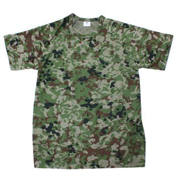 日本の陸上自衛隊新迷彩装備 在庫販売 プレゼント JME 陸自新迷彩 Tシャツ 半袖 大放出セール 速乾