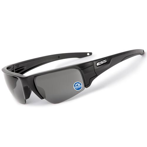 在庫販売 ESS CROWBAR クローバー 偏光レンズ ミラーグレー 簡単レンズ交換 EE9019-03