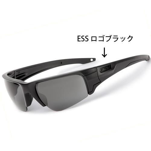 在庫販売 ESS CROWBAR クローバー ブラックロゴ 2枚レンズ 簡単レンズ交換 EE9019-01
