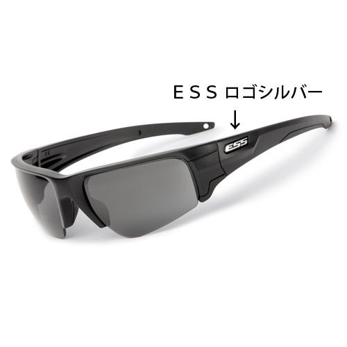 在庫販売 ESS CROWBAR クローバー シルバーロゴ 2枚レンズ 簡単レンズ交換 EE9019-02