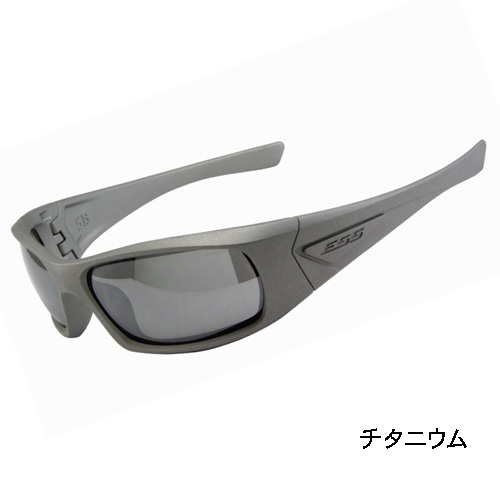 在庫販売 ESS 5B セラコートシリーズ スモークグレーレンズ ゴーグル サングラス チタニウム EE9006-103 日本正規品