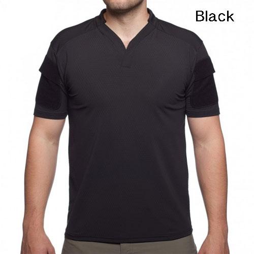特価/セール品 Velocity Systems ベロシティシステムズ BOSS Rugby shirt タクティカルシャツ 吸汗、速乾 ミリタリー半袖シャツ 米国製 VS-BR