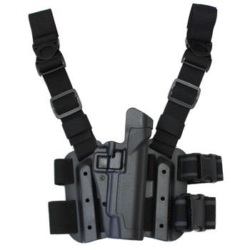 在庫販売 ブラックホーク 430504BK-R SERPA LEVEL2 TACTICAL ホルスター ブラック BERETTA92/96/M9/M9A1(NotForBrig./Elite/92A1/96A1)