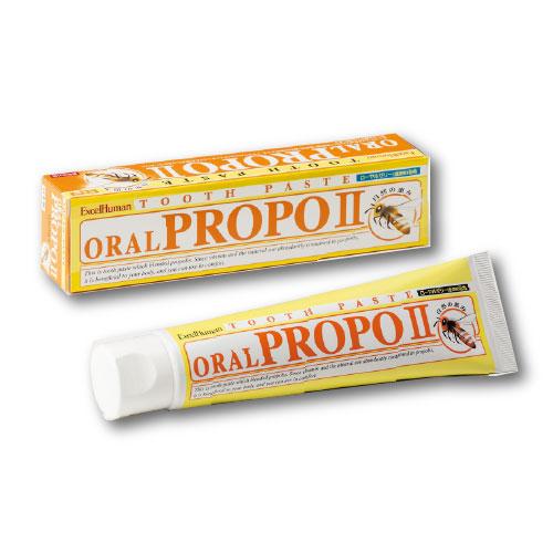 発泡剤 サッカリン パラベンは使用しておりません 年間定番 オーラルプロポ2 薬用歯みがき 1個 口臭 歯垢 エクセルヒューマン 甘草エキス 歯磨き粉 売却 EH プロポリス配合 歯周病 医薬部外品 フラボノイド