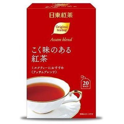直送商品 セット販売 三井農林 期間限定お試し価格 こく味のある紅茶ティーバッグ ※賞味期限2022年7月31日 20袋X6個セット