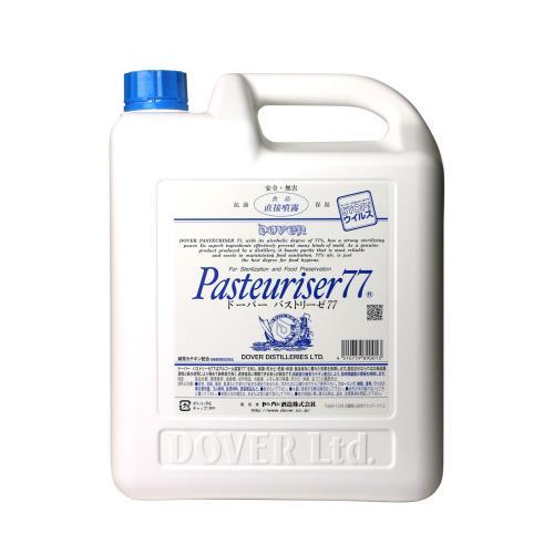 あす楽 ドーバー酒造 パストリーゼ77 当店一番人気 ドーバーパストリーゼ77 大容量 高品質 除菌剤※ご1家族様3点まで※ 5L