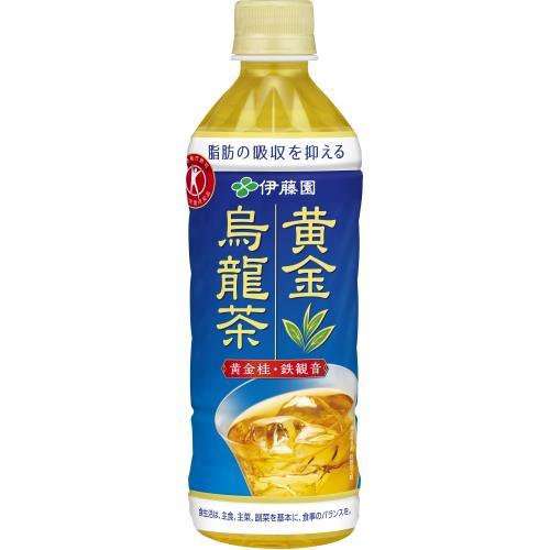 あす楽 大決算セール 伊藤園 メーカー直売 黄金烏龍茶 500ML×24個セット