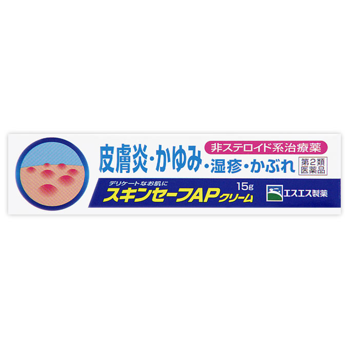 <title>第2類医薬品 スキンセーフAPクリーム 一部予約 15g セルフメディケーション税制対象商品</title>
