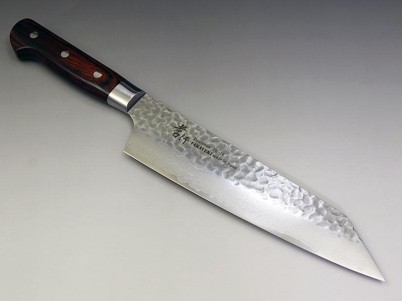 堺孝行 V金10号ダマスカス33層鎚目 剣型牛刀190【あす楽対応】