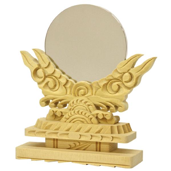【神具】御神鏡(木製)2.0《上》【#2】【HLS_DU】