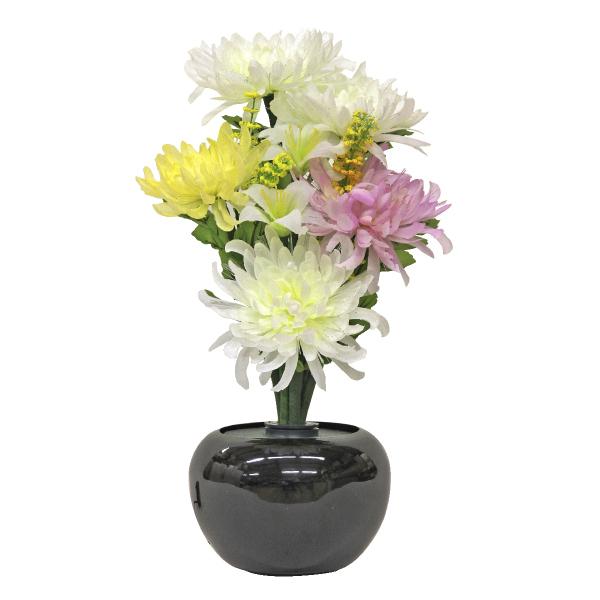 【小型灯・盆提灯/ちょうちん】グランドルミナス いろどり菊(LED使用) STD 1つ【#2】【HLS_DU】