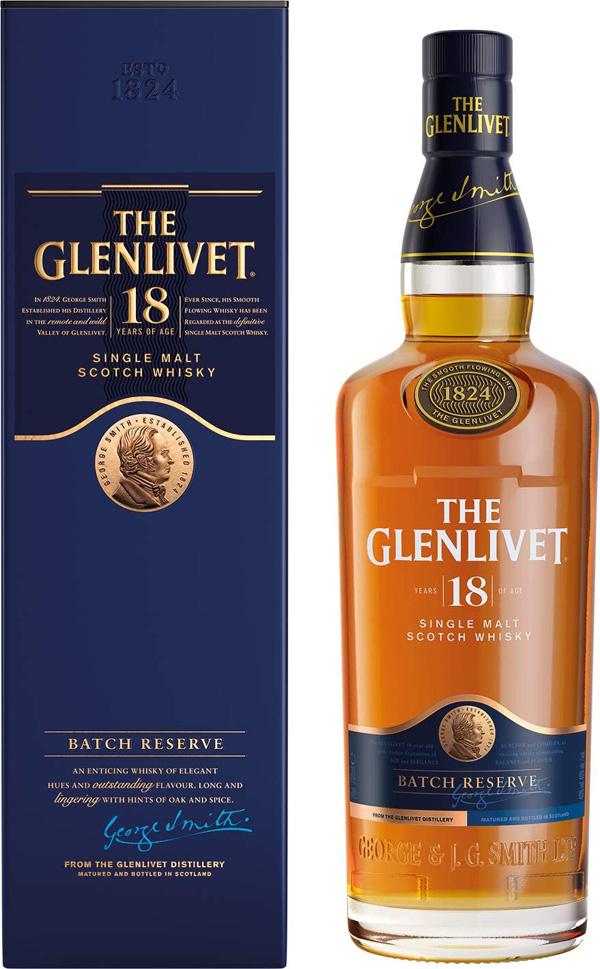 ザ・グレンリベット 18年 700ml  正規品 The Glenlivet 18 Year Old