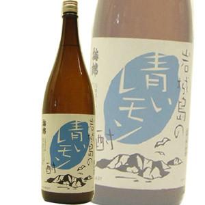 梅錦 岩城島青いレモン酎 1.8L
