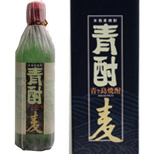 青ヶ島焼酎 青酎 麦 700ml