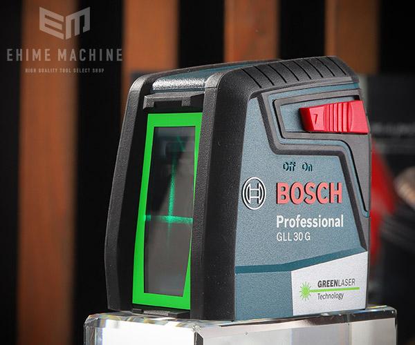 【新商品】 BOSCH クロスラインレーザー(グリーンレーザー) GLL 30G ボッシュ
