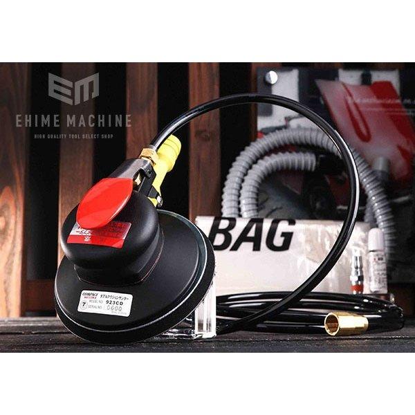 [メーカー直送品] COMPACT TOOL ダブルアクションサンダー 吸塵式 923CD MPSマジック式 オービット7mm