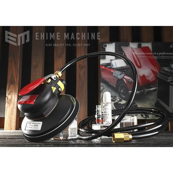 [メーカー直送品] COMPACT TOOL ダブルアクションサンダー 非吸塵式 923C MPSマジック式 オービット7mm