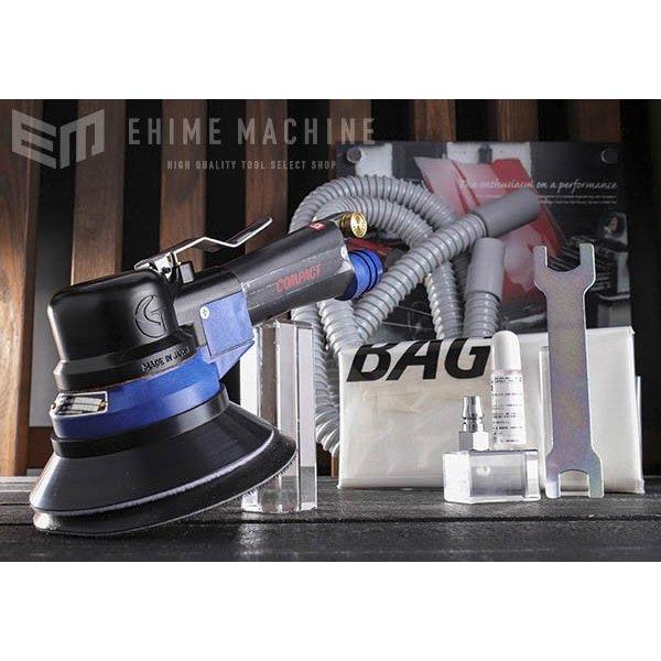 [メーカー直送品] COMPACT TOOL ダブルアクションサンダー 吸塵式 930CD MPSマジック式 オービット10mm