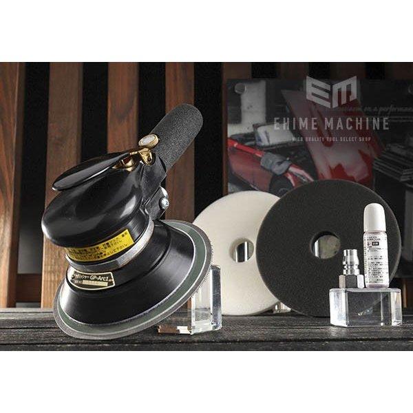 [メーカー直送品] COMPACT TOOL ワンハンドギアアクションポリッシャー GP-ARC1