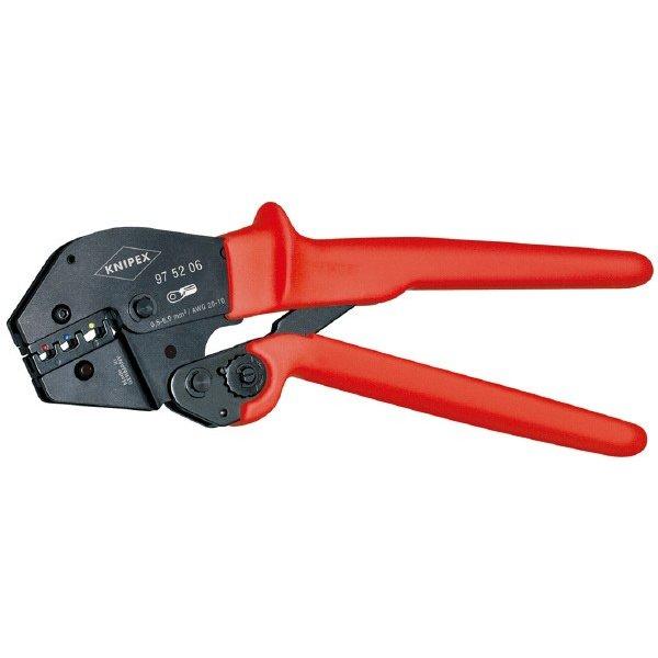 KNIPEX 9752-06 圧着ペンチ (SB) クニペックス