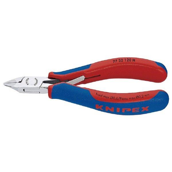 KNIPEX 7732-120H 超硬刃エレクトロニクスニッパー クニペックス