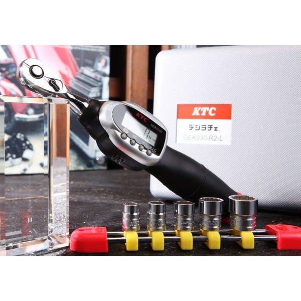 KTC 6.3sq.ソケットレンチセット デジラチェモデル TB206WG1