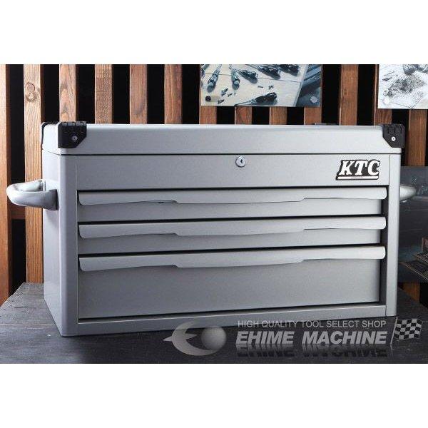 [メーカー直送業者便]KTC ツールチェスト (シルバー) EKR-1003