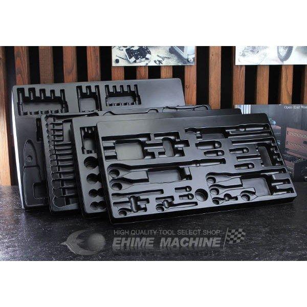 [部品・代引き不可] KTC EKX-118専用樹脂成形トレイ 4枚組 SK8038EX-T3 [SK8038EX/SK8017X用]