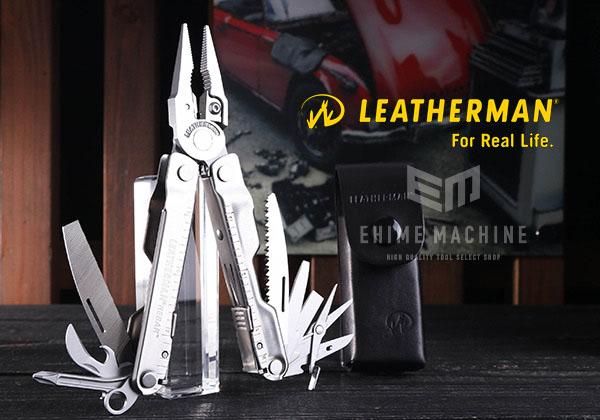 [新掲載商品] LEATHERMAN RB/KL-L マルチツール KNIFELESS REBAR ナイフレスリーバー 革ケース付き 国内正規品 レザーマン