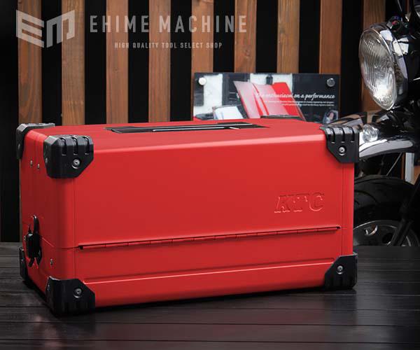 在庫有 両開きメタルケース レッド EK-10AR3 工具箱
