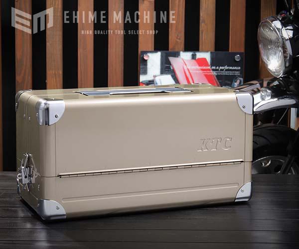 【KTC】 両開きメタルケース シャンパンゴールド EK-1ACG 工具箱