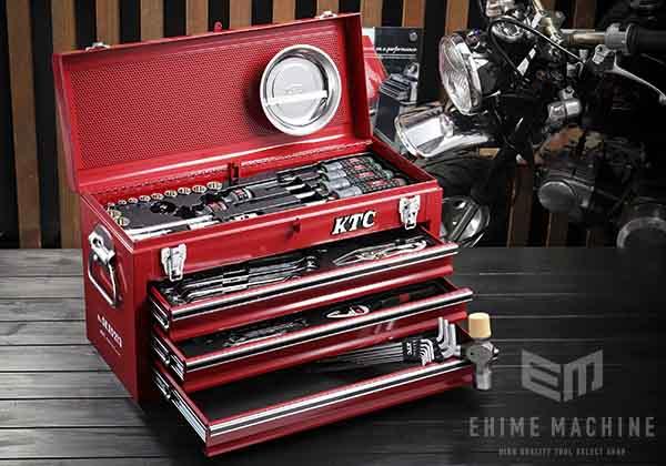 在庫少 KTC 9.5sq. 54点インチ工具セット SK35420BX(特典付)レッド インチサイズツールセット SKX0213 採用モデル