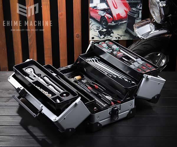 在庫少 KTC 9.5sq. 56点工具セット SK35620WZ(豪華特典付)メタリックシルバー スタンダードツールセット EK-10A 採用モデル