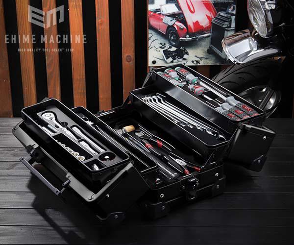 在庫有 KTC 9.5sq. 56点工具セット SK35620WZGBK(豪華特典付)ブラック スタンダードツールセット EK-10AGBK 採用モデル