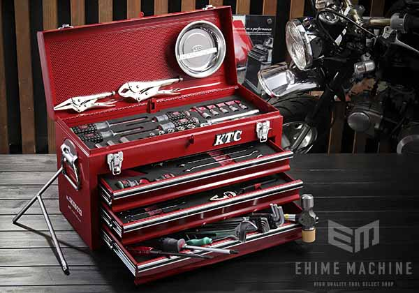 在庫少 KTC 9.5sq. 56点工具セット SK35620XMC(特典付)レッド モーターサイクルツールセット SKX0213 採用モデル