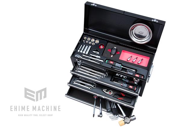 正規  9.5sq. SKX0213BK SK35720XBKTQ(特典付)ブラック 店 採用モデル:EHIMEMACHINE KTC トルクル採用ツールセット 在庫少 57点トルクル採用工具セット-DIY・工具