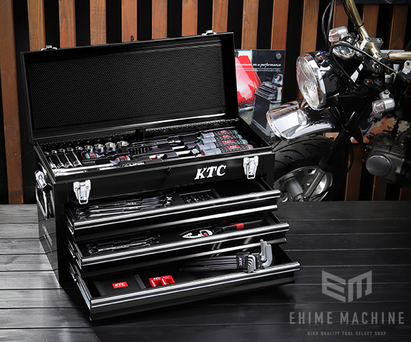 在庫有 KTC 工具セット 9.5sq./67点セット SK3660GXBKEM ブラック SKX0213BK 採用モデル