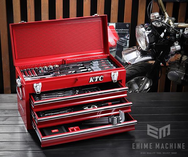 在庫有 KTC 工具セット 9.5sq./67点セット SK3660GXEM レッド SKX0213 採用モデル