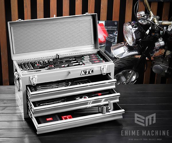 在庫有 KTC 工具セット 9.5sq./67点セット SK3660GXSEM シルバー SKX0213S 採用モデル