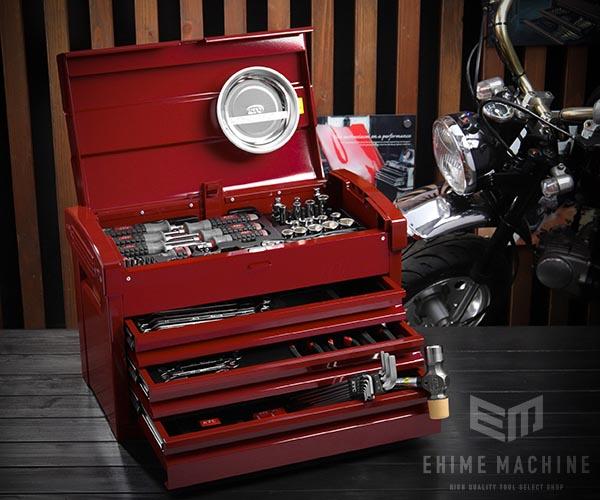 在庫有 KTC 9.5sq. 68点工具セット SK36820EPR(豪華特典付)パールレッド スタンダードツールセット EKR-103PR2 採用モデル