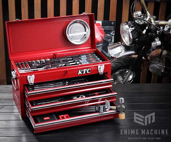 在庫有 KTC 9.5sq. 69点工具セットSK36920X(豪華特典付)レッド スタンダードツールセット SKX0213 採用モデル