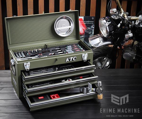在庫有 KTC 9.5sq. 69点工具セット SK36920XMGR(豪華特典付)マットグリーン スタンダードツールセット SKX0213MGR 採用モデル