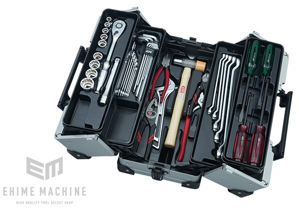 【KTC】 12.7sq. 41点工具セット SK44120WMZ(特典付)メタリックシルバー 一般機械整備用ツールセット EK-10A 採用モデル