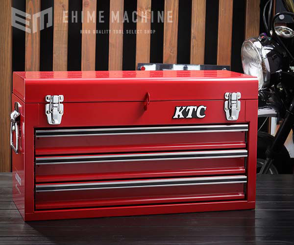 在庫有 KTC SKX0213 (特典付) ツールチェスト ソリッドレッド