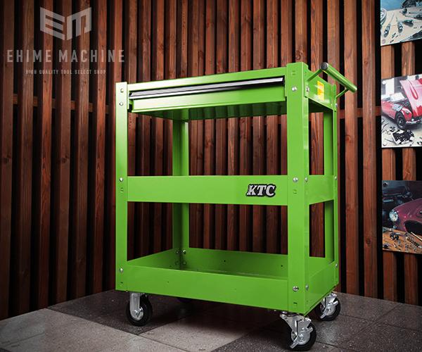 在庫有 KTC ツールワゴン 引出し付 ライムグリーン SKX2613LGR (SK SALE 2020)