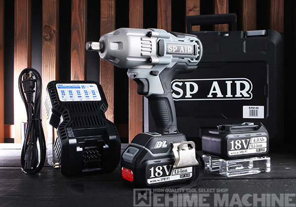 [新商品] SP AIR SP8140 12.7sq. コードレスインパクトレンチ